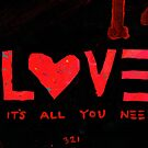 Project 321 - Love - It's All You Need by cehouston
