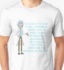 Rick and Morty – To Live is to Risk It All T-Shirt