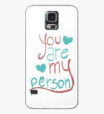 My person Case/Skin for Samsung Galaxy