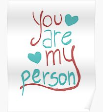 My person Poster