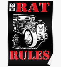The Rat Rules - Poster Poster