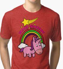 Hail Satan - Cute Tri-blend T-Shirt