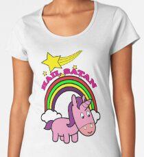Hail Satan - Cute Women's Premium T-Shirt