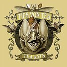 The Tea Bats featuring Tips Von Tea by Bethalynne Bajema