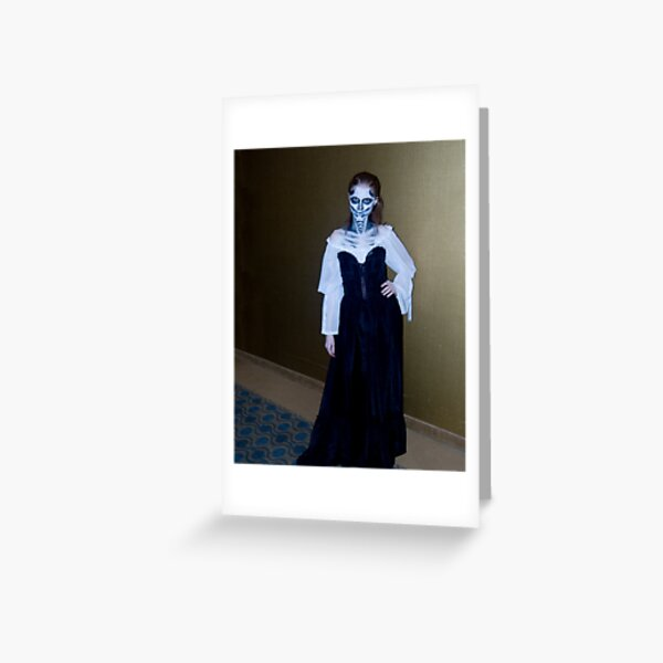 Lady Ghoul Greeting Card