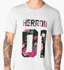 Zach Herron - Colorful Flowers Men's Premium T-Shirt
