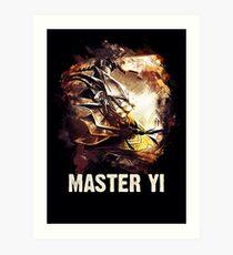 League of Legends MASTER YI Art Print