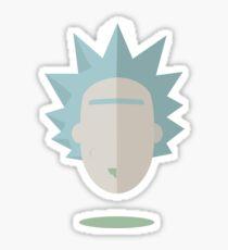 Minimalistic Rick Sticker
