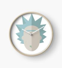 Minimalistic Rick Clock