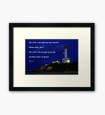"""Beacon of Hope"" 2 Framed Print"