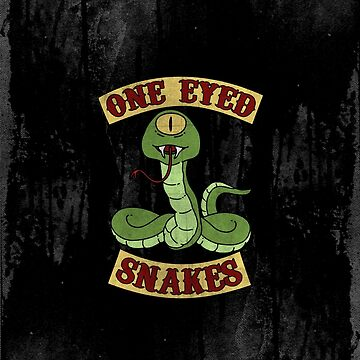 One Eyed Snakes by gutterjim
