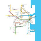 Sydney Trains Map by Rich Anderson