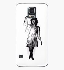 Girl with Candle Jar Lantern Case/Skin for Samsung Galaxy