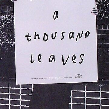 A thousand leaves by Dylannn