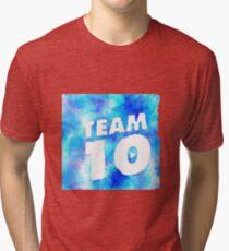Team 10 Logo - Jake Paul Tri-blend T-Shirt