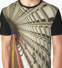 Orange Line Graphic T-Shirt