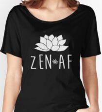 Zen AF Lotus Women's Relaxed Fit T-Shirt