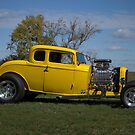 1932 Ford 5 Window Coupe Hot Rod by TeeMack