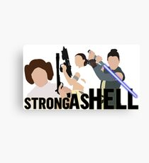 Strong as Hell (Galactic Gals Version) Canvas Print