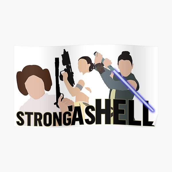 Strong as Hell (Galactic Gals Version) Poster