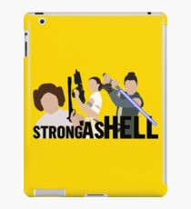 Strong as Hell (Galactic Gals Version) iPad Case/Skin