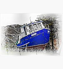 Willing Mind Fishing Vessel Poster