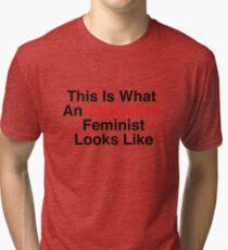 This Is What An Australian Feminist Looks Like Tri-blend T-Shirt