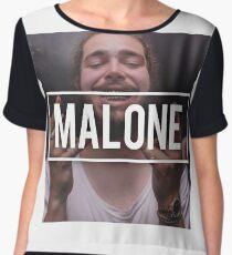 Post Malone Women's Chiffon Top