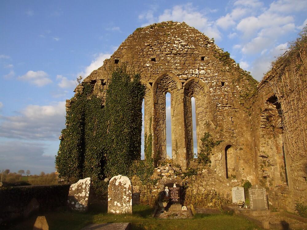 Church ruins by John Quinn