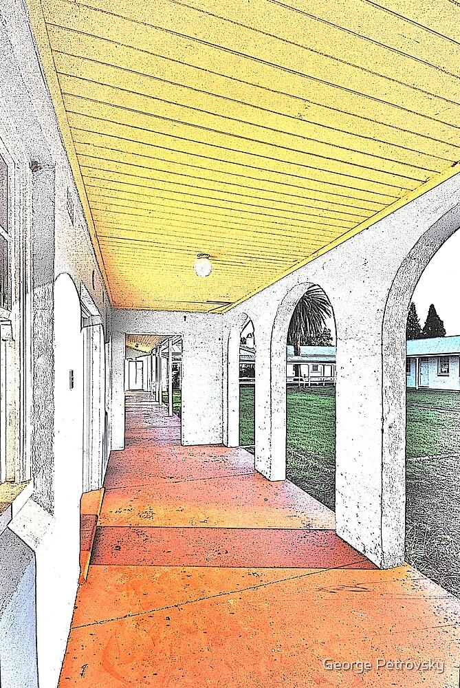 Scheyville Arches Sketch by George Petrovsky