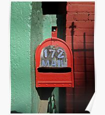 Red Mailbox Poster