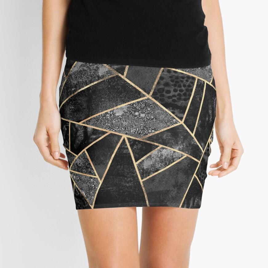 Black Stone 2 Mini Skirt