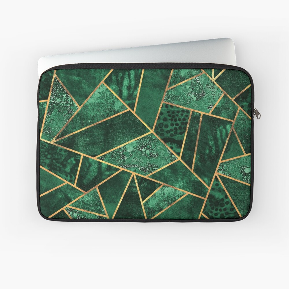 Deep Emerald Laptop Sleeve
