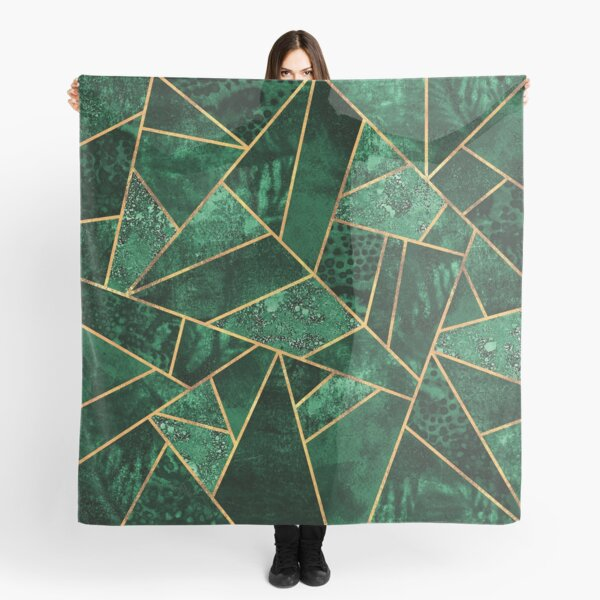 Deep Emerald Scarf