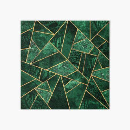 Deep Emerald Art Board Print