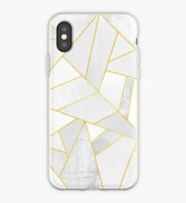 White Stone iPhone Case