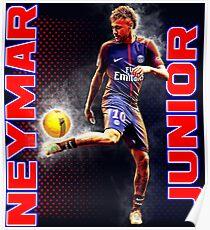 Neymar Junior PSG Poster