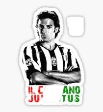 ALESSANDRO DEL PIERO IL CAPITANO JUVENTUS Sticker