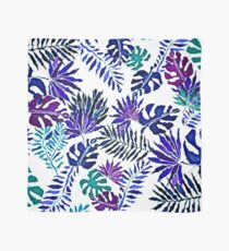 Purple and Green Paradise Pattern Scarf