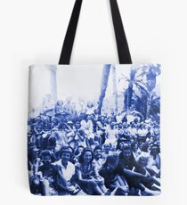 Vintage Santa Catalina Island Group Shot Tote Bag