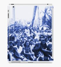 Vintage Santa Catalina Island Group Shot iPad Case/Skin