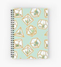 Terrarium Dice Spiral Notebook
