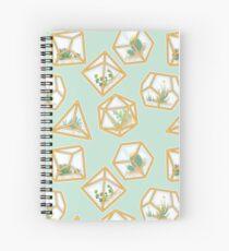 Terrarium Dice Spiral Notebook