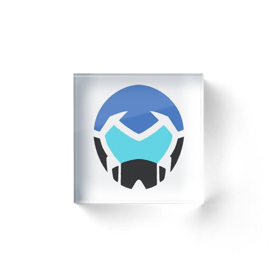 Voltron legendary defender lance helmet acrylic blocks by voltron legendary defender lance helmet by jessica wise biocorpaavc