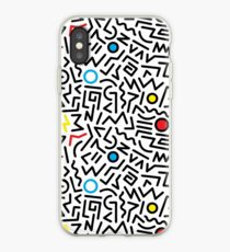 80's pattern no.1 iPhone Case
