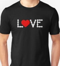 LOVE Bike Bicycle Cycling Unisex T-Shirt