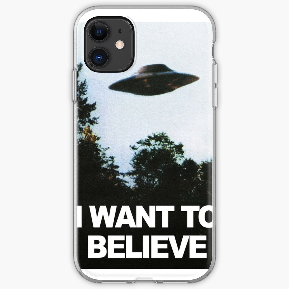 Ich möchte glauben iPhone-Hülle & Cover