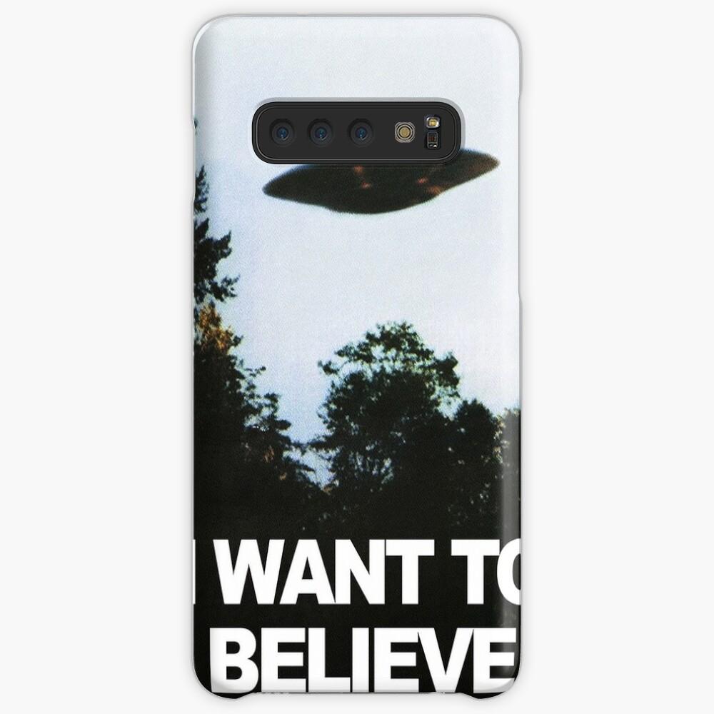 Ich möchte glauben Hülle & Klebefolie für Samsung Galaxy