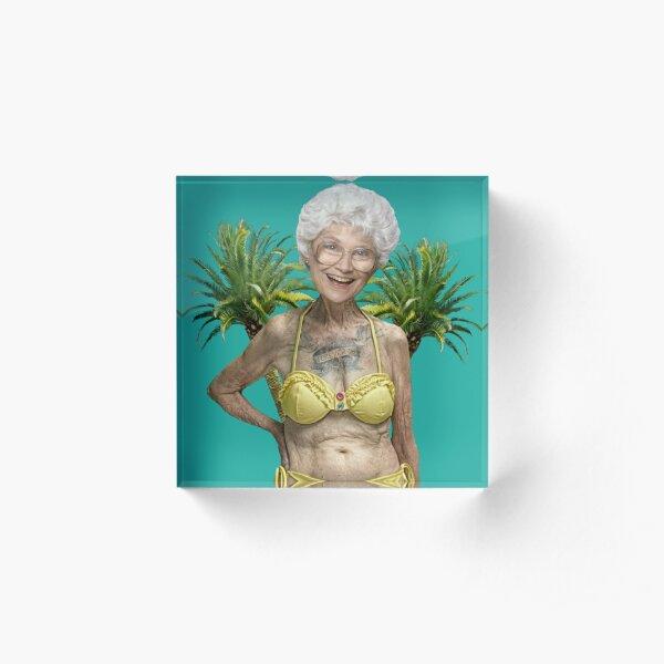 Golden Girls - Sophia Petrillo Acrylic Block