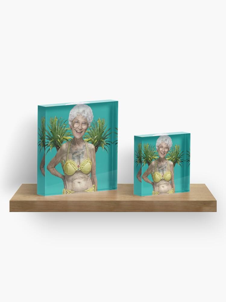 Alternate view of Golden Girls - Sophia Petrillo Acrylic Block